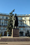 The monument to Maxim Gorky in St. Petersburg Royalty Free Stock Photography