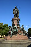 Monument to Maximilian II in Munich, Germany Royalty Free Stock Image