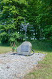 Monument to memorise prisoners of war of Stalag XXB. Royalty Free Stock Photo