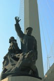 The monument to merchant seamen died in the second world war Royalty Free Stock Photography