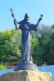 Monument to Metropolitan Joseph Nelyubovich-Tukalsky in Chigirin, Ukraine Stock Image