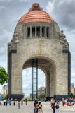 Monument to the Mexican Revolution Royalty Free Stock Photo