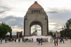 Monument to the Mexican Revolution stock images