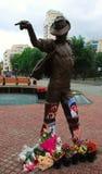 Monument to Michael Jackson. Royalty Free Stock Photos