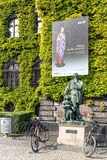 Monument to Michelangelo Buonarotti Stock Photography