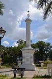 Monument to Miguel Lopez de Legazpi Royalty Free Stock Photo