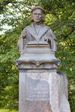 The monument to the Mikael Agric in Vyborg Royalty Free Stock Images