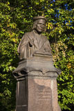 Monument to Mikael Agricola october afternoon. Vyborg, Russia Royalty Free Stock Photo