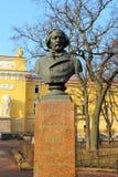 Monument to Mikhail Glinka in Alexander Garden Stock Photo