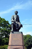 Monument to Mikhail Lomonosov Royalty Free Stock Photos