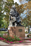 Monument to Mikhail Shchepkin inTheater square. Belgorod. Russia Stock Photography