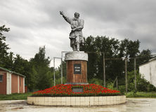 Monument to Minin in Balakhna. Russia Royalty Free Stock Photography