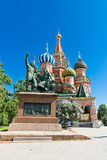 The monument to Minin and Pozharsky Royalty Free Stock Photo