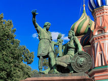 Monument to Minin and Pozharsky Stock Photo