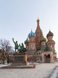 Monument to Minin and Pozharsky Royalty Free Stock Image