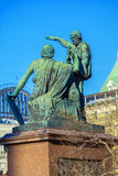The Monument to Minin and Pozharsky in Moscow Stock Photography