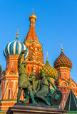 Monument to Minin and Pozharsky in Moscow Royalty Free Stock Image