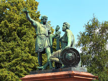 Monument to Minin and Pozharsky in Moscow Royalty Free Stock Photography