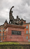 Monument to Minin and Pozharsky in Nizhny Novgorod. Russia Stock Images