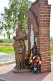 Monument to mothers and children of Stalingrad Stock Images