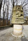 Monument to Mountain Rescuers in Zakopane Stock Image