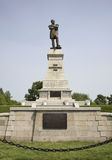 Monument  to Muravyov-Amursky in Khabarovsk. Russia Stock Photos