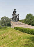 Monument to the murdered victims in Babyn Yar. Kiev, Ukraine. Royalty Free Stock Photos
