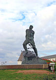 Monument to Musa Jalil. On September 16, 2014 in Kazan, Russia Royalty Free Stock Photography