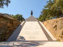 Monument to Napoleon Bonaparte Stock Images