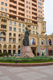 Monument to Nasimi Royalty Free Stock Photography