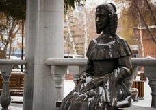 Monument to Natalia Goncharova Stock Image