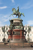 Monument to Nicholas I Royalty Free Stock Photo