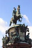 The monument to Nicholas I Stock Photography