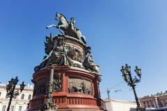 Free Monument To Nicholas I. Royalty Free Stock Image - 59008596