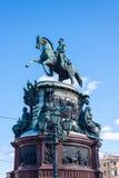 Monument to Nicholas I Stock Photography