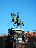 Monument to Nicholas I Stock Image
