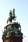 Monument to Nicholas I in St. Petersburg Royalty Free Stock Photos
