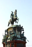 Monument to Nicholas I in St. Petersburg Royalty Free Stock Photography