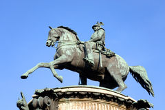 The monument to Nicholas I. Stock Photography
