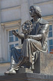 Monument to Nicolas Copernicus Royalty Free Stock Photography