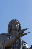 Monument to Nicolas Copernicus Stock Photography