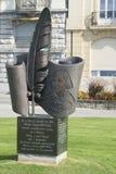 Monument to Nikolai Gogol in Vevey royalty free stock photos
