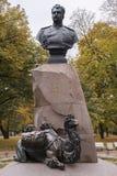 Monument to Nikolay Przhevalsky, Saint Petersburg, Russia Stock Photos