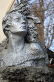 Monument to Nina Poptsova in Pyatigorsk, Russia Stock Photos