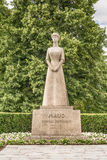 Monument to Norway`s Queen Maud of Wales Royalty Free Stock Images
