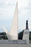 Monument to ocean sailors Stock Images