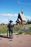 Monument to a paintor Isaak Levitan Stock Image