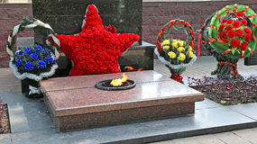 Monument to perished of World War II. In Belarus Stock Images