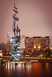 Monument to Peter the Great Stock Images