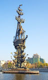 Monument to Peter the Great Stock Photography